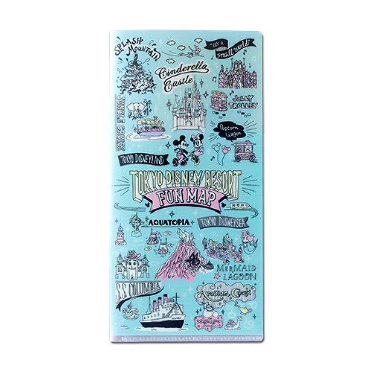 既に照らす趣味ミッキー&フレンズ ケース 手書き風デザインシリーズ パークマップデザイン 文具 ディズニー お土産【東京ディズニーリゾート限定】