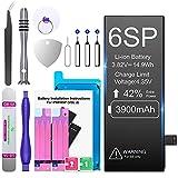Batería para Phone 6S Plus 3900 mAh, Batería de Repuesto Super Capacity con Kit de reparación Profesional, Compatible con los Originales A1634, A1687, A1699