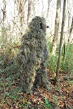 Lightweight Woodland Ghillie Suit Camo Sniper Jacket with Pants Set