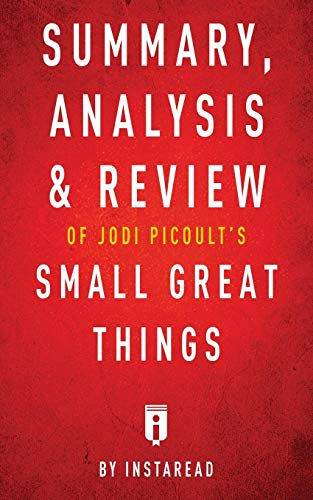 Summary Analysis Review Of Jodi Picoults Small Great Things By Instaread