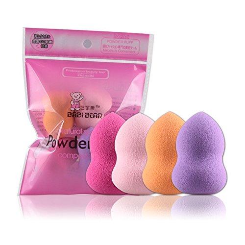 4x da. WA Powder Puff Esponja Suave Polvo Puff Pads