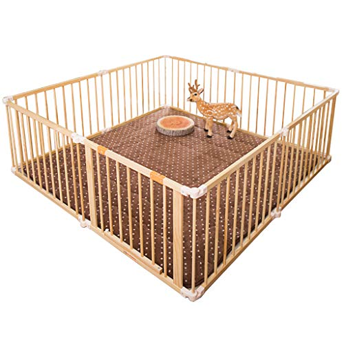 Fantastic Deal! Super Wide Gate and Play Yard Baby Safety Playpen, Room Divider Individually Malleab...