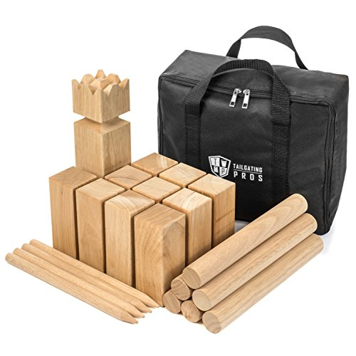 Tailgating Pros Premium Wooden Kubb Lawn Game