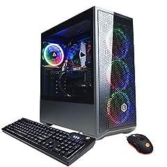 System: Intel Core i5-10400F 2.9GHz 6-Core | Intel B460 Chipset | 8GB DDR4 | 500GB PCI-E NVMe SSD | Genuine Windows 10 Home 64-bit NVIDIA GeForce GTX 1660 Super 6GB Video Card | 1x HDMI | 1x DisplayPort Connectivity: 6x USB 3.1 | 2x USB 2.0 | 1x RJ-4...