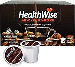 HealthWise Coffee for Keurig K-Cup (Colombian Supremo, 72 Count)