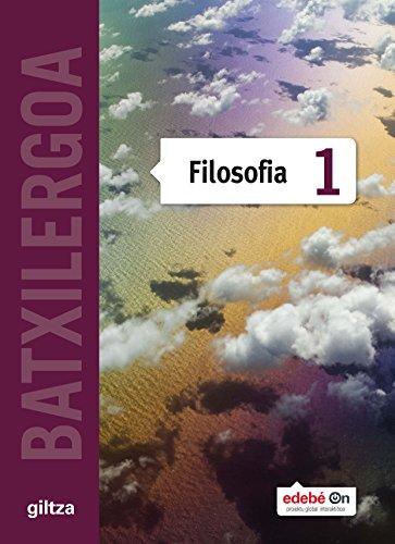 FILOSOFIA TX1 (EUS) - 9788483784068