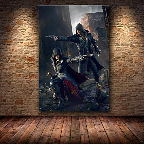 YGVXX Game Puzzle Puzzle Assassin's Creed Puzzles, 1000 Stück Kreative Holz DIY Puzzles, für Adult Kids Education Games Assembling Puzzle