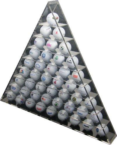 LONGRIDGE Pyramid Perspex - Expositor Triangular para Bolas de Golf