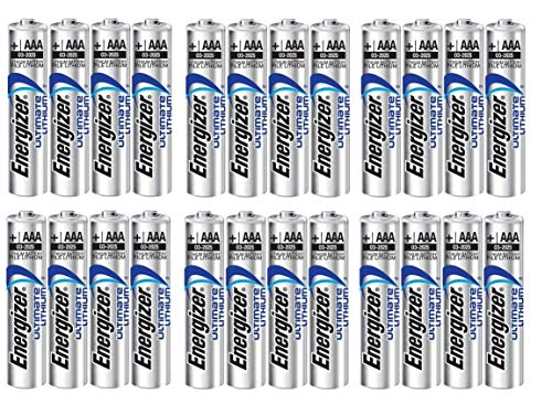 24 x AAA Energizer Ultimate Lithium (L92) Batteries