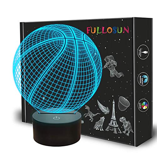 Eenhoorn 3D nachtlampje projectie LED-lamp baby kleuterschool nachtlampje voor kinderkamer huis decoratie Kerstmis verjaardag geschenken met 7 kleurwisseling