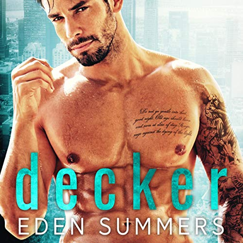 Decker audiobook cover art
