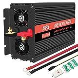 KRIPOL Inverter Onda sinusoidale Pura 1500/3000W Trasformatore di Potenza Convertitore 12V...
