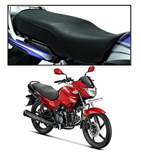 PINZU Black Motorcycle Seat Cover for Hero Glamour FI