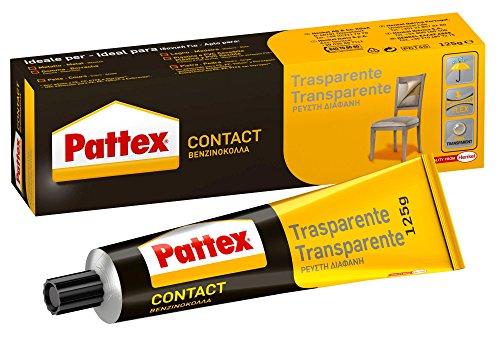 Pattex Cola de contacto, para trabajos de bricolaje, color transparente, 125gr
