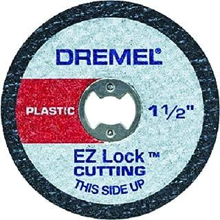 Dremel EZ476 1 1/2-Inch EZ Lock Rotary Tool Cut-Off Wheels For Plastic - 5 pack