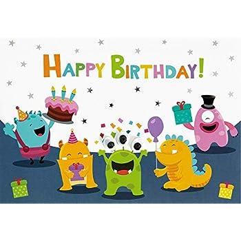 11,6 x 16,6 cm Geburtstagskarte f/ür Kinder Lifestyle Panda