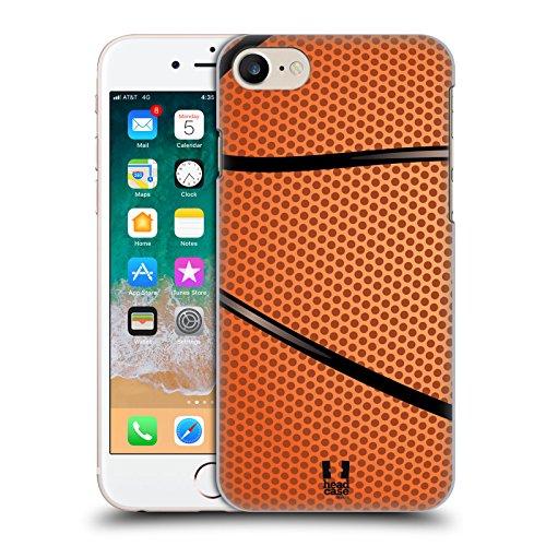 Head Case Designs Basketball Ball Kollektion Harte Rueckseiten Handyhülle Hülle Huelle und Passende Designer Hintergrundbilder kompatibel mit Apple iPhone 7 / iPhone 8 / iPhone SE 2020