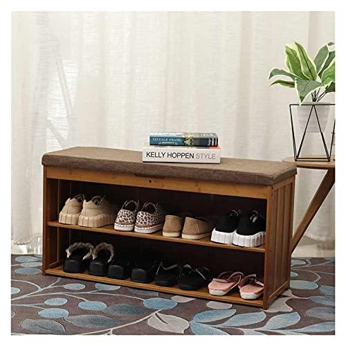 Portascarpe Scarpe da Scarpe Multifunzione Shoe Bench Stoccaggio Organizzatore di Scarpe Armadi Ingresso con Style Style Style Sgabello panchina d'ingresso Domestico Scarpiera (Color : 90cm)