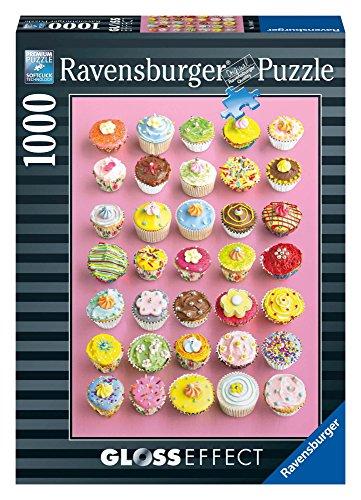 Ravensburger - 19440 - Puzzle Classique - Cupcakes Gourmands Effet Glossy - 1000 Pièces