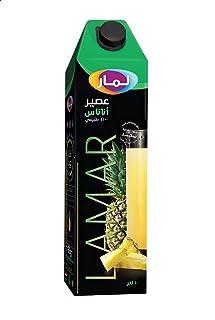 عصير اناناس من لمار، 1 لتر