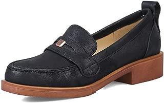 AdeeSu Womens Dance-Ballroom Frayed-Seams Casual Urethane Pumps Shoes SDC06242