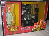 The Muppet Show Series 1 - Muppet Labs Playset (With Beaker Figure and More)