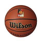 Wilson Pelota de baloncesto de interior, Competición, Pavimento deportivo, Tamaño 7, EVOLUTION, Marrón, WTB0516XBDBB