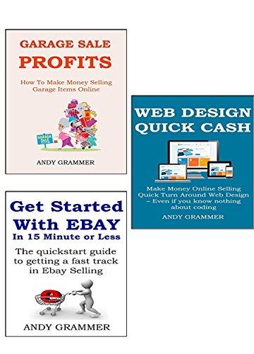 BUSINESS IDEAS STARTER BUNDLE (3 in1): Web Design - Ebay Selling - Garage Sale (English Edition)