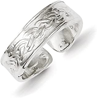 Lex & Lu Sterling Silver Toe Ring LAL22823