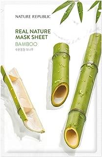 [New] Nature Republic Real Nature Mask Sheet_10Sheet (#Bamboo)