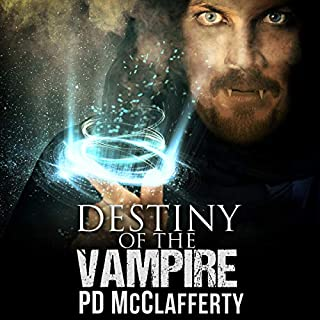 Destiny of the Vampire audiobook cover art