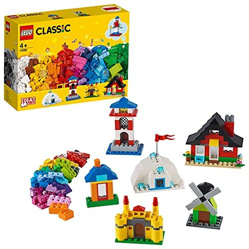 LEGO11008ClassicLadrillosyCasas,JuegodeConstrucciónparaNiñosyNiñas+4años