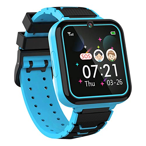 Kids Smartwatch for Boys Girls Phone - 1.54'' HD Touch Screen Smartwatch...