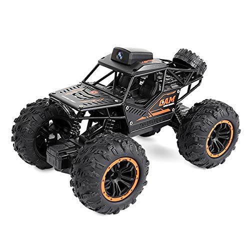 Elain Remote Control Car Equipped with 2.4G 720P WiFi HD Camera High Speed Off Road Vehicle 1:18 4WD Terrain RC Car Truck Buggy for Kids and Adults, Drift Remote Control Car, Kids Toys