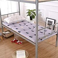 MWPO Alfombrilla de Tatami para Dormir, cojín de futón japonés, Almohadilla Acolchada y Transpirable para colchón, colchón de Piso para Dormitorio de estudiantes-80x190 cm (31x75 Pulgadas)