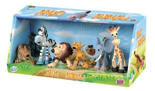 Grandi Giochi GG30019 - Set Animali Della Giungla, 6 Pezzi