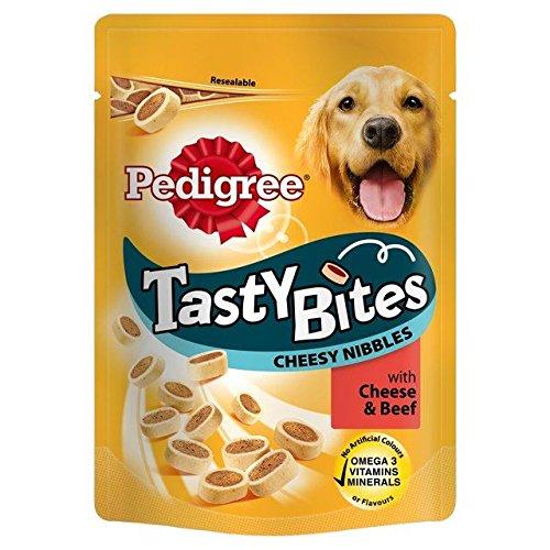 Pedigree Tasty Bites Treats Cheese & Beef 140g