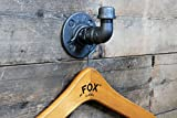 Haken im industriellen Steampunk-Stil für Mantel, Hut, Taschen, Schal, Flur, Garderobe Fe20six - 8
