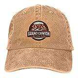 XCNGG Parque Nacional del Gran Cañón Sombreros de Vaquero Unisex Sombrero de Mezclilla Deportivo Gorra de béisbol de Moda Negro