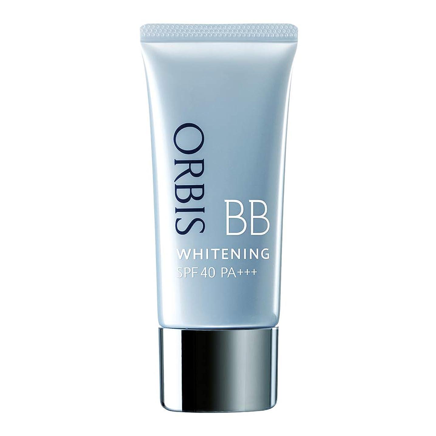 収縮純粋に楽なオルビス(ORBIS) ホワイトニングBB(パフなし)ナチュラル 35g SPF40/PA+++ ◎薬用美白BBクリーム◎ [医薬部外品]