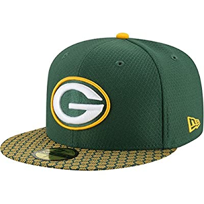 New Era Green Bay Packers Hat Official NFL Flat Bill Cap 59Fifty