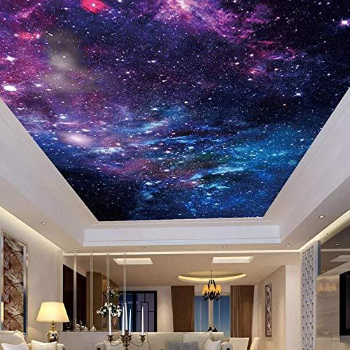 Shuangklei op maat behang plafond Stickers muurschildering 3D mooie sterrenhemel woonkamer slaapkamer Zenith plafond decoratie muurschildering kunst 280x200cm