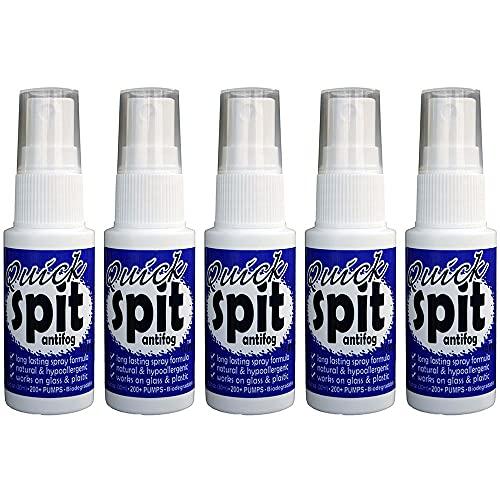 JAWS Quick Spit Antifog - Spray Formula (1 oz.) - Pack of 5 #1796-5