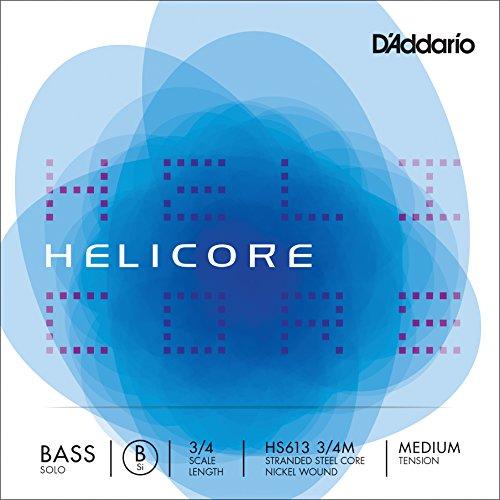 Daddario Orchestral Hel.Solo B Hs613 3/4 Me - Cuerda contrabajo