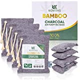 Bamboo Charcoal Air Purifying Bag - Natural Air Purifiers and Deodorizers - Activated Charcoal Bags for Odor...