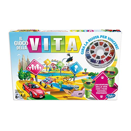 Hasbro Vita (gioco in scatola Gaming, versione in italiano), Single, Multicolore, E4304103