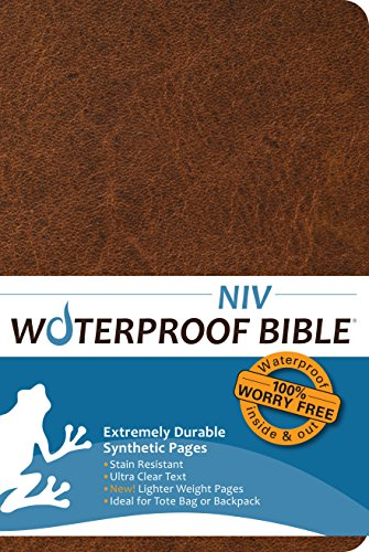 Compare Textbook Prices for Waterproof Bible NIV2011 Brown  ISBN 9781609690526 by Bardin & Marsee Publishing