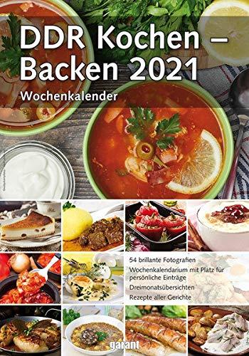 Wochenkalender DDR Kochen - Backen 2021