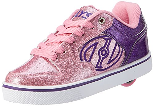 Heelys Damen Motion Plus Turnschuhe, Violett (Purple/Pink Glitter), 38 EU