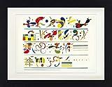 1art1 Wassily Kandinsky - Reihenfolge, 1935 Gerahmtes